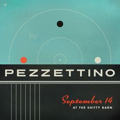 GigPosters.com - Pezzettino #poster #typography