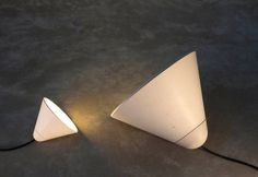 Concrete Lamps by Itai Bar On & Oded Webman Photo #lamp #concrete
