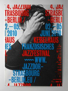 Jazz festival poster. #typography #poster #layout #jazz