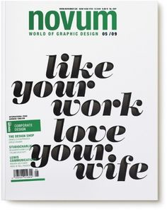 Work, Novum — Sawdust #editorial #awesome