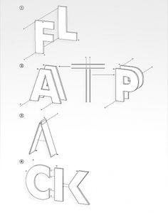 TYPOGRAPHY: CRAIG WARD | flylyf #ward #craig #poster #typography