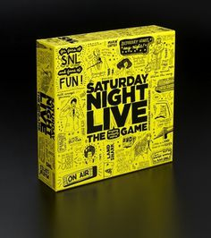 Saturday Night Live: The Game - TheDieline.com - Package Design Blog #live #saturday #the #night #game