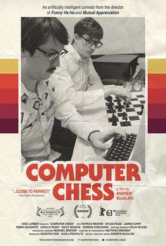 Retro Poster for Andrew Bujalski's Computer Chess