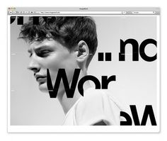 Work by Michael Mandrup #website #type #homepage #grid
