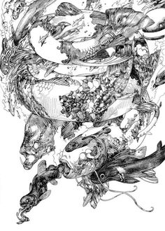 Katsuya Terrada, 'Spiral #5', Terra's Black Marker