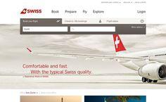 SWISS #website #minimal #muted