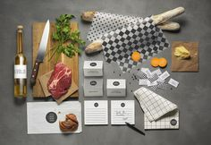 Bold Branding Design for Coor Restaurants #catering