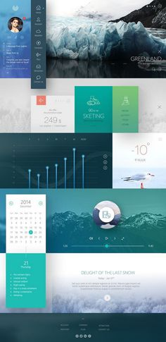 Daily inspiration - tutorialstorage com (1) #greenland #design #grid #art #web