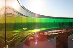 olafur eliasson: your rainbow panorama now complete