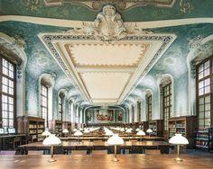 Bibliothèque de la Sorbonne, 2014, by Franck Bohbot