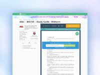 StudySoup Content Details Page Design