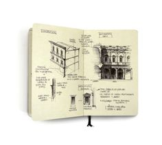 CJWHO ™ (Classic Architecture Studies by Chema Pastrana ...) #design #illustration #art #architecture #sketch #drawing #moleskine #classic