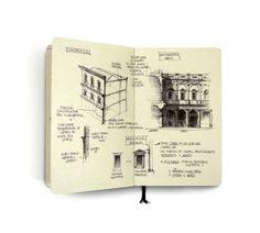 CJWHO ™ (Classic Architecture Studies by Chema Pastrana ...) #classic #design #illustration #studies #architecture #art #moleskine #drawing #sketch