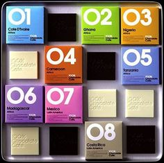 Colorful Vintage Packaging #packaging #vintage