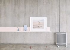 Melbourne Gallery Apartment minimal interior design deluxe concrete white pink soft beautiful beauty scandinavian danish new modern best