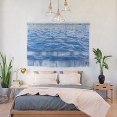 As blue as the Ocean Wall Hanging