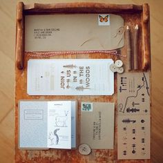 Creative Collider #inspiration #packaging #wood #editorial #typography