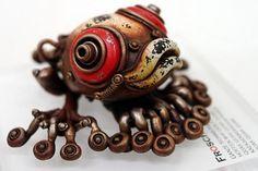 GALLERY #sculpture #matsuoka #clay #michihiro #machinery #animals