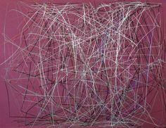 Leandro Serpa / Gravura // #art #leandroserpa #painting #blueprint #abstract