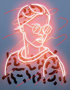 Vasya Kolotusha illustration & led lights