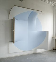 gallowhill:Jan Maarten Voskuil There Is No Point In Light Blue, 2009 #abstract