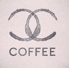 Chanel Coffee Author Unknown #logo #coffee #chanel