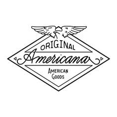 Mixed Quality Design Inspiration | From up North #americana #stamp #original #type