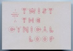 FromKeetra - CORDIAL INVITATIONS ````` --...--...--...--...--... ````````````````````````` #typography