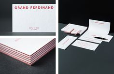 Stationery, Business card, letterhead