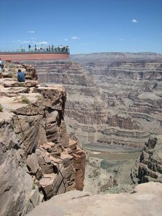 Skywalk in Grand Canyon #skywalk #grand #glass #architecture #art #bridge #canyon