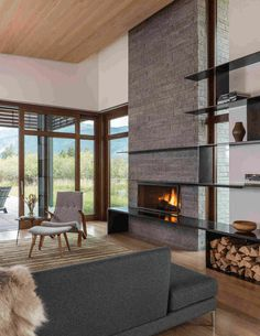 Contemporary Mountain Home in Wyoming 1