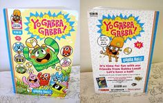 All sizes | Gabba ball! PROOF. | Flickr - Photo Sharing! #print #book #comic #kids #cartoon #yo gabba gabba