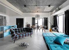 Apartment in Taipei by Ganna Design - interior design, interior, #decor, home decor, home #design, #interiordesign