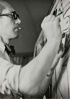 apostrophe...9 #white #architect #black #corbusier #photography #painting #and #le