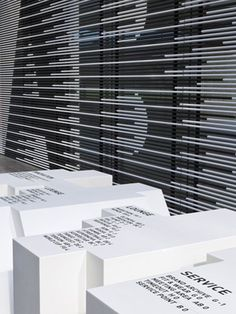 Büro Uebele / Adidas / Adidas Design Center / Adidas Laces / Signage / 2011