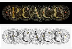 http://www.seblester.co.uk/ #peace #illumination #penmanship