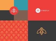 Firefly Identity on Behance #icon #logo #identity