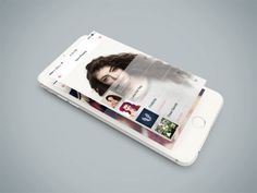 Free Isometric iPhone 6 PSD Mockup
