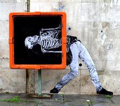 Street x-ray #graffiti #art