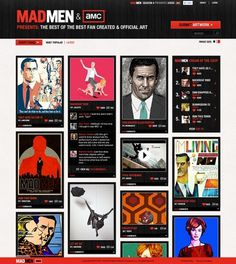 Amer Creative #design #web #art #madmen