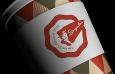 San Gretti´s Signature Slices Visual Identity on the Behance Network