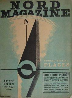 NORD MAGAZINE N°54   CASSANDRE #book #illustration #vintage #type #typography