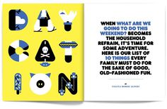 Daycation - Matt Chase | Design, Illustration