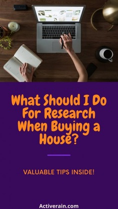 What Do I Research First When Buying a Home Infographic