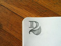 Dribbble - D2 by Ivaylo Nedkov #type #sketching #concept