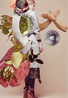 tuesday's girl: ashkan honarvar. / sfgirlbybay #trench #handshake #women #five #fashion #collage #high