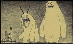 FFFFOUND! #monsters