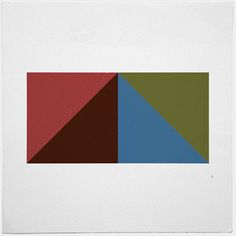 #416 Pyramid – A new minimal geometric composition each