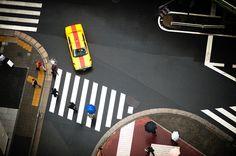 Intersection 08.jpg #streets #yellow #skyscraper #cab #york #new