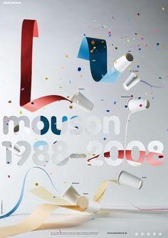 Spezial – Indexhibit: Martha Richter | Temp Magazin #poster #paint #paper #art direction #cups